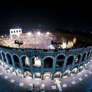 Opera night in the Arena di Verona